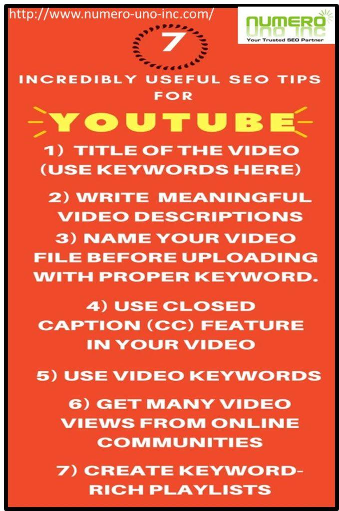 How to do youtube seo