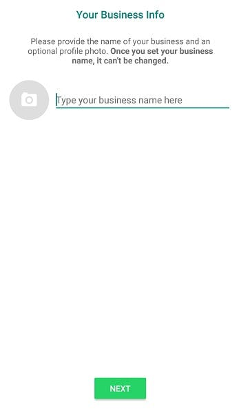 how to use whatsapp business