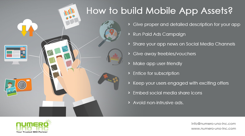 build mobile app assets