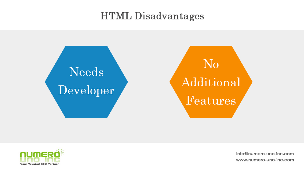 html-disadvantages