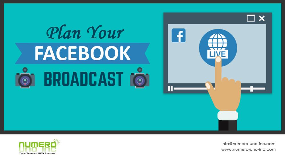 planning facebook broadcast
