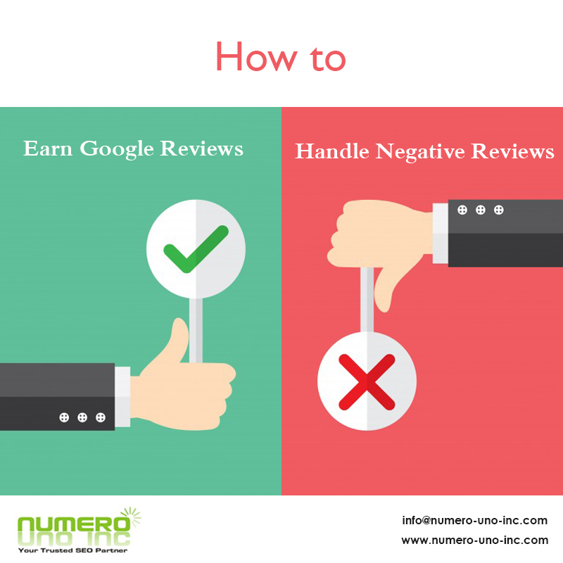 How to Earn Google Reviews Handle Negative Reviews