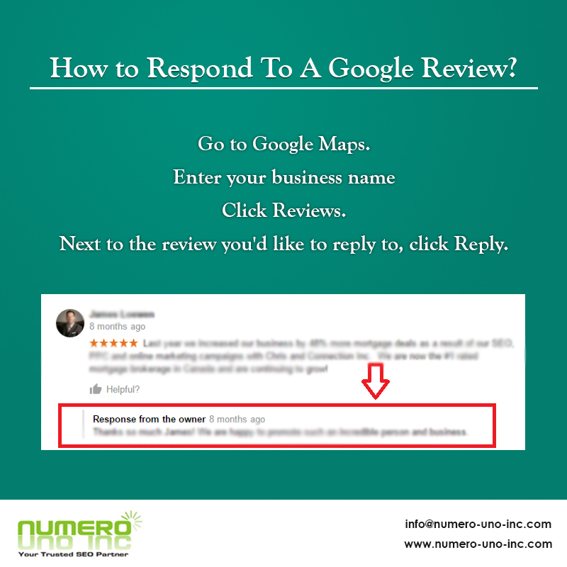How to Respond To A Google Review
