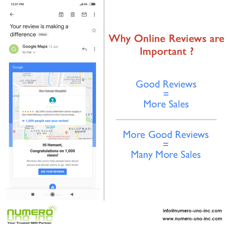 Why Online Reviews are Important